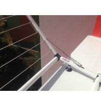 Sušák okenní sklopný do 1 m