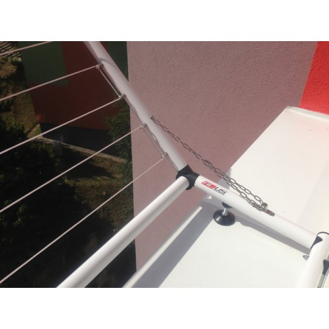 Sušák okenní sklopný od 151 - 200 cm