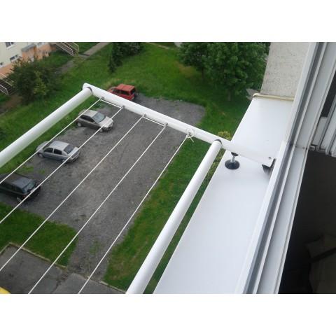 Sušák okenní pevný od 151 - 200 cm